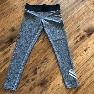 Pink Victoria's Secret heather gray yoga leggings